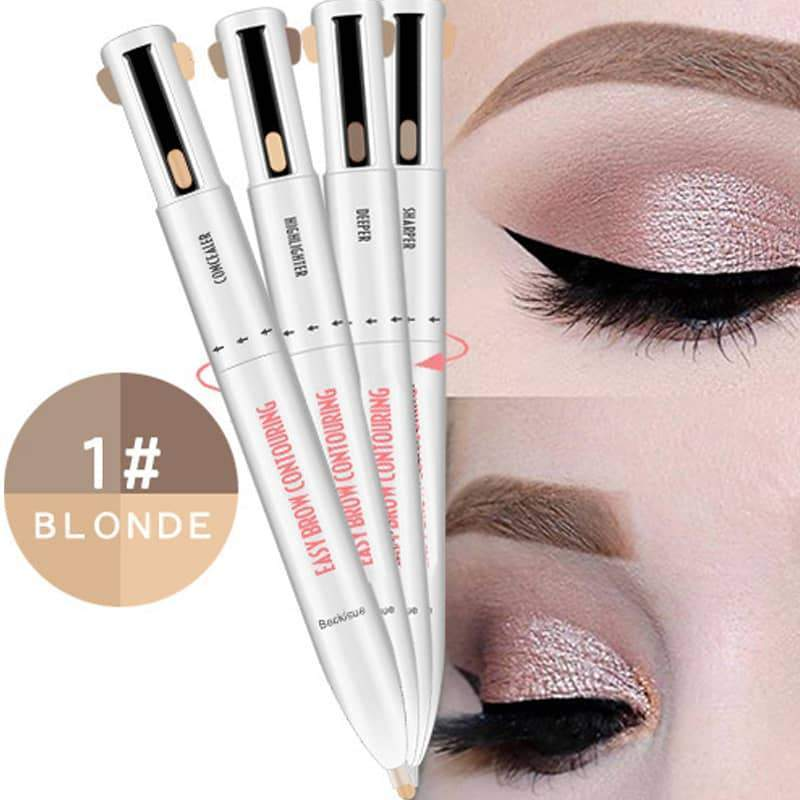 4-in-1 Defining Highlighting Waterproof Eyebrow Pen