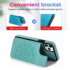 Wallet Card Holder Leather Phone Case