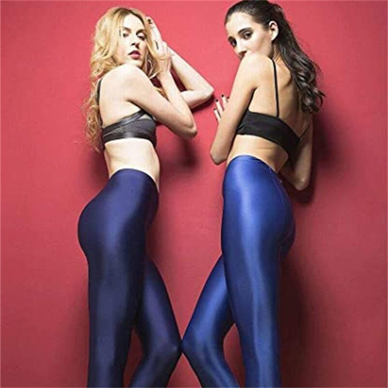 🔥Christmas Big Sale🔥-Satin GLOSSY OPAQUE Stockings Yoga
