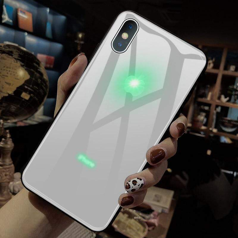 Glowing LED Call Flash Glass Case(Mother's Day Promotion - 50% OFF)