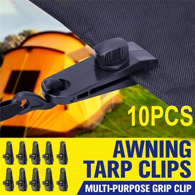 Fixed Plastic Clip For Outdoor Tent(10 PCS) (60% OFF)