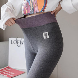 Winter Warm High Waist Elastic Leggings