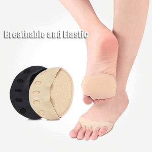 Honeycomb Fabric Forefoot Pads - Foot Pain Relief Cushion High Heel Shoes Insert Insoles