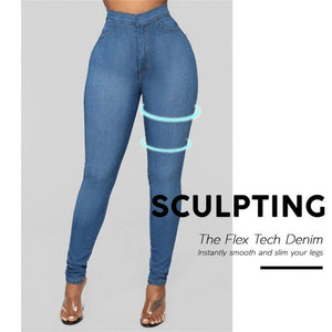 Button-Free Sharping Jeans Leggings(Limited Time Offer)