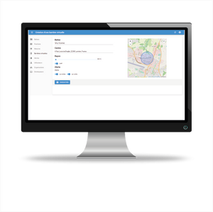 Plateforme Ticatag Connect - Geofencing