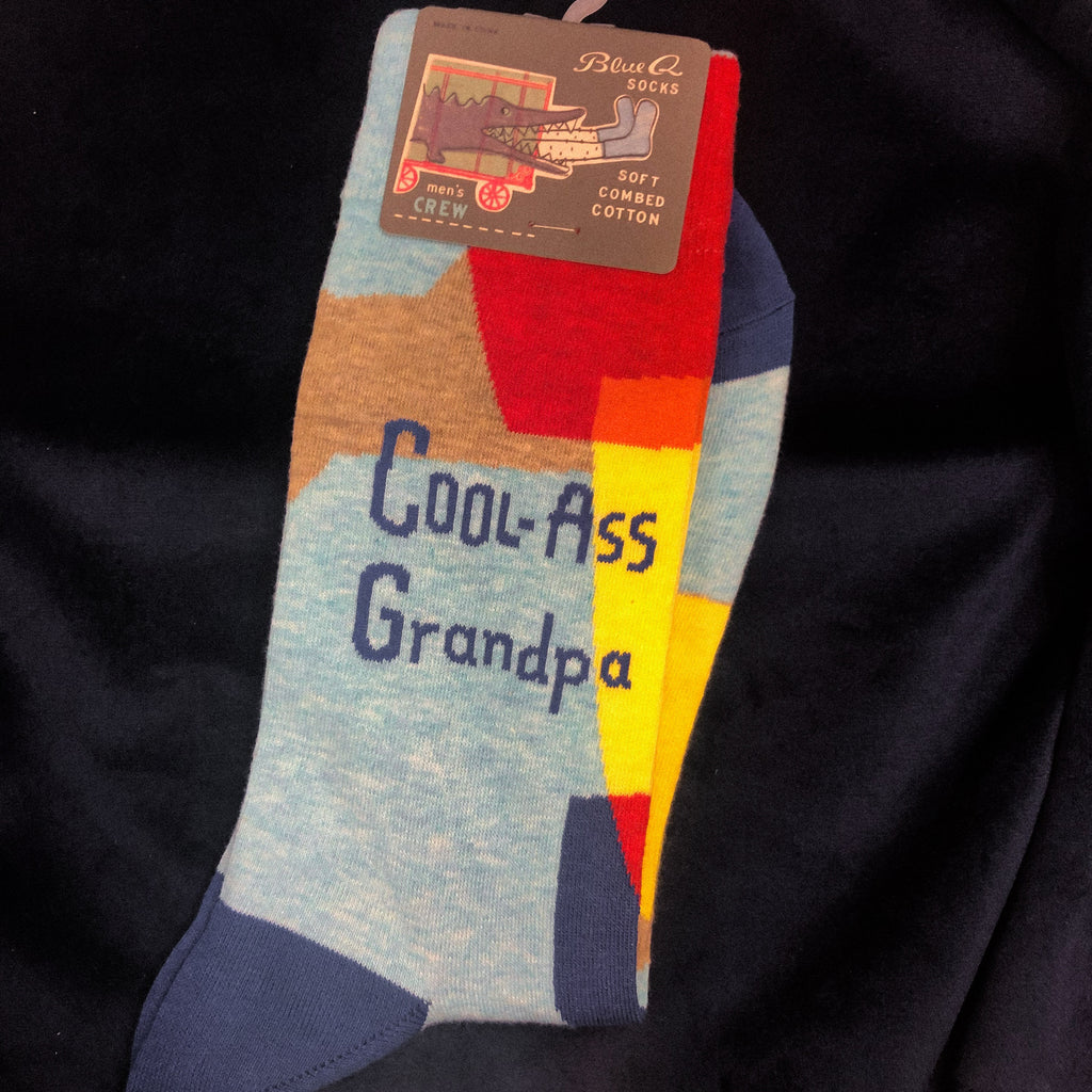 Cool Ass Grandpa - BlueQ Socks