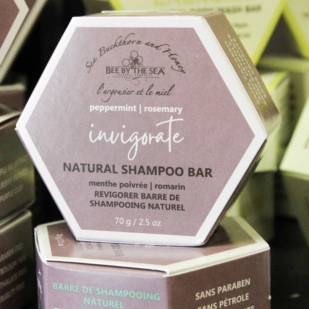 INVIGORATE Shampoo Bar | Bee By The Sea