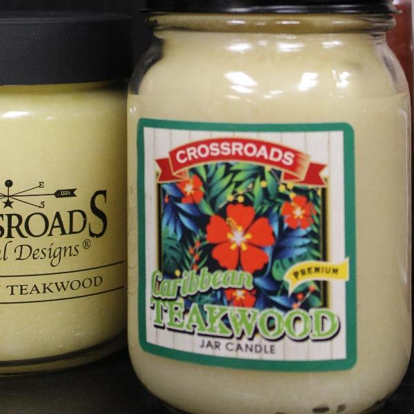 Caribbean Teakwood | Crossroads Candles - Sugold Jewellers & Giftware