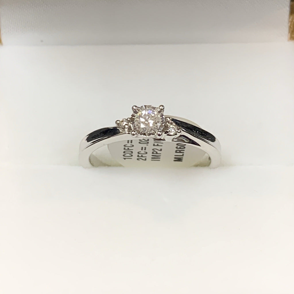 3 Stone Engagement Ring - Sugold Jewellers & Giftware