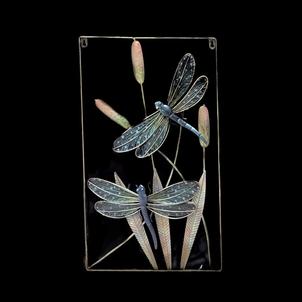 Dragon-Fly & Reeds Wall Mounted Decor - Sugold Jewellers & Giftware