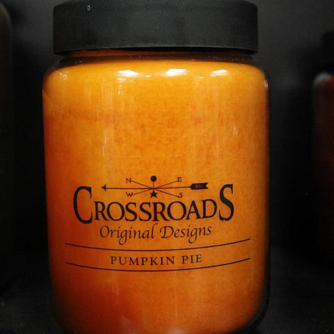 Pumpkin Pie | Crossroads Candles - Sugold Jewellers & Giftware