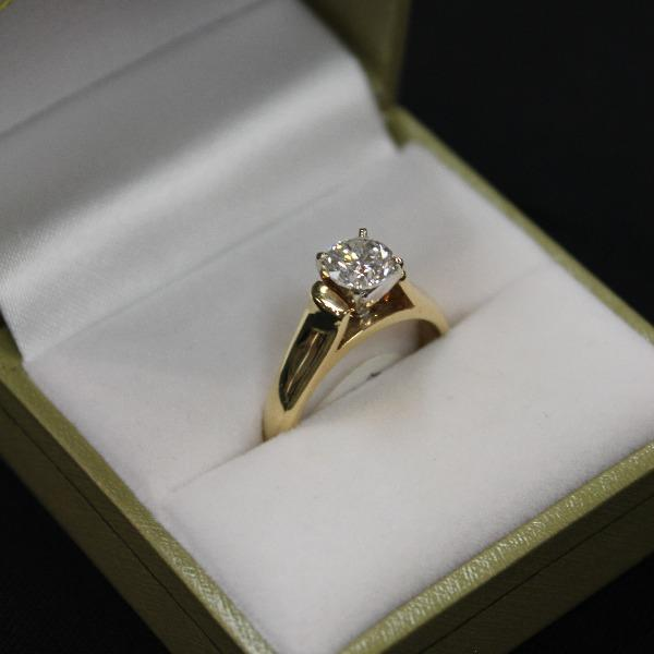 Solitaire 1.00ct Diamond Ring |14kt Gold - Sugold Jewellers & Giftware