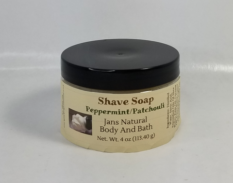 Shave Soap Peppermint Patchouli