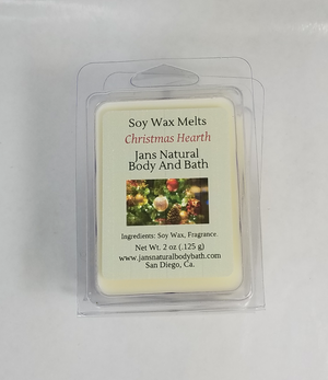 Soy Wax Melt-Christmas Hearth
