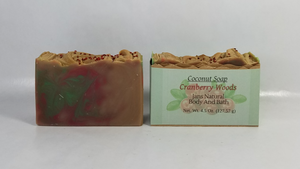 Bar Soap Cranberry Woods
