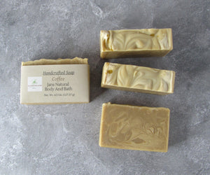 Bar soap Coffee