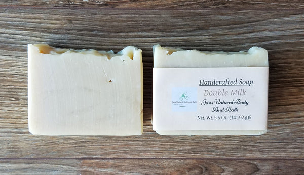 bar soap double milk unscented 5 oz