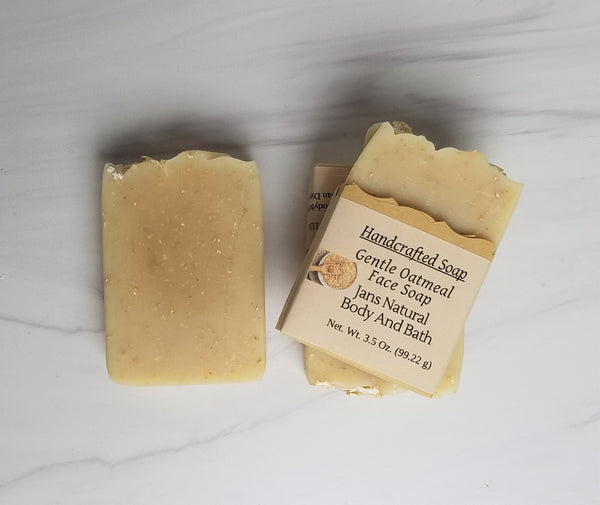 Face Soap Oatmeal Gentle Unscented 3.5oz