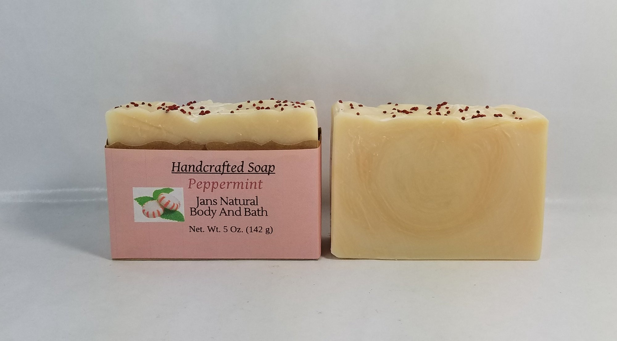 Bar Soap Peppermint 5oz