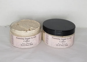Foaming Sugar Scrub Coffee 6.5 oz