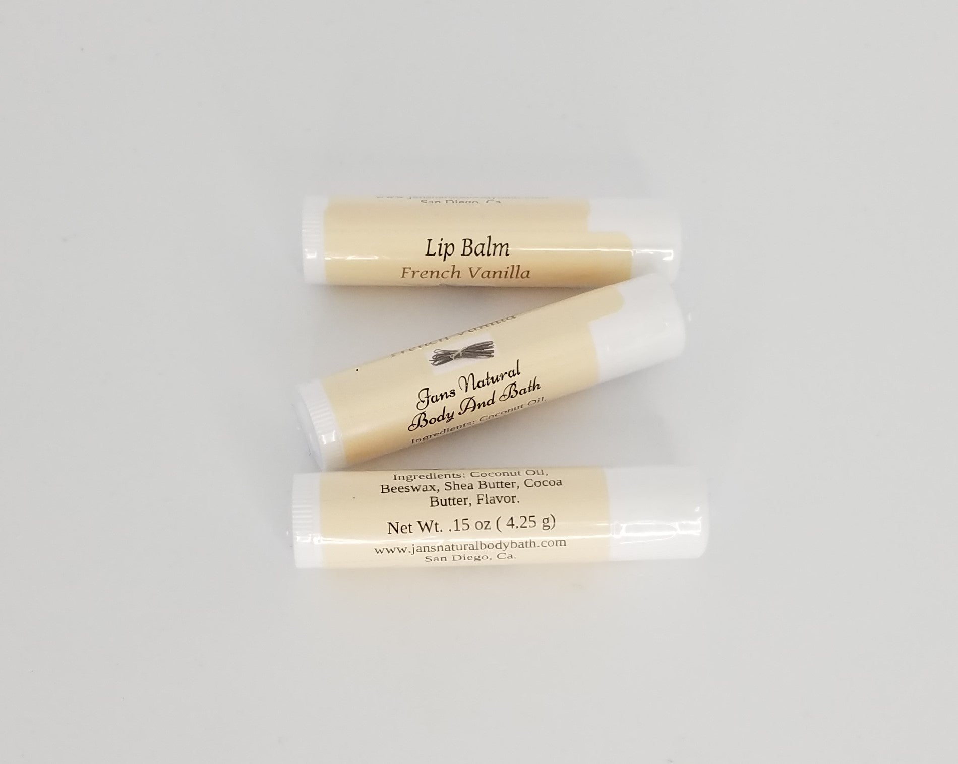 Lip Balm French Vanilla Regular .15oz