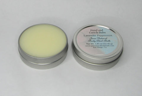 Hand and Cuticle Balm Lavender Peppermint 1.85 oz