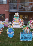 Surprise Lawn Party - Birthday Cakes