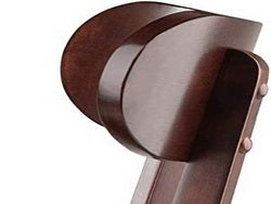 curved back comfortable chair