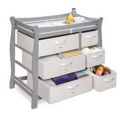 fully removable baskets with handles