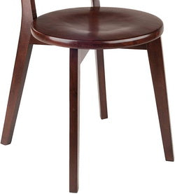 round seats and flared legs
