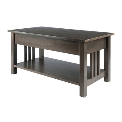Stafford Coffee Table, Oyster Gray