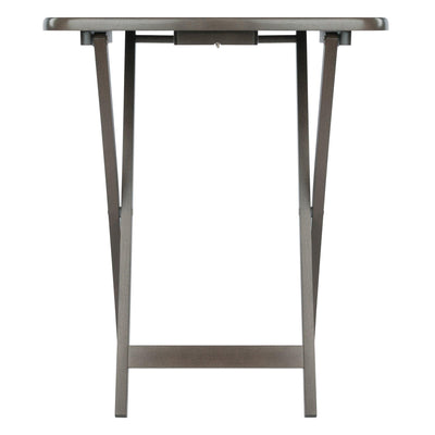 Lucca 5-Pc Snack Table Set, Oyster Gray - My USA Furniture