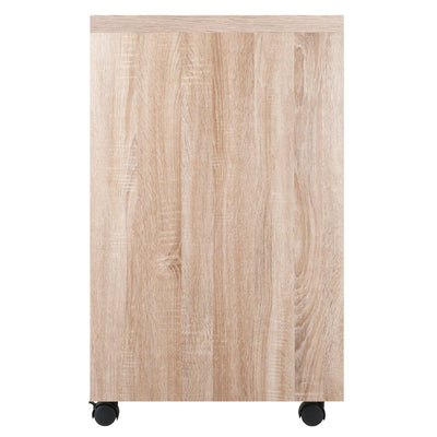 Kenner Open Storage Mobile Cabinet, Two-Tone - My USA Furniture