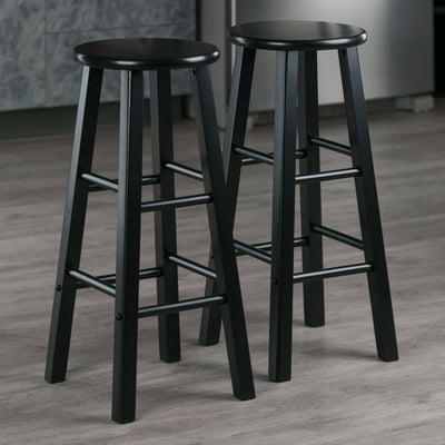 Element Bar Stools, 2-Pc Set, Black - My USA Furniture