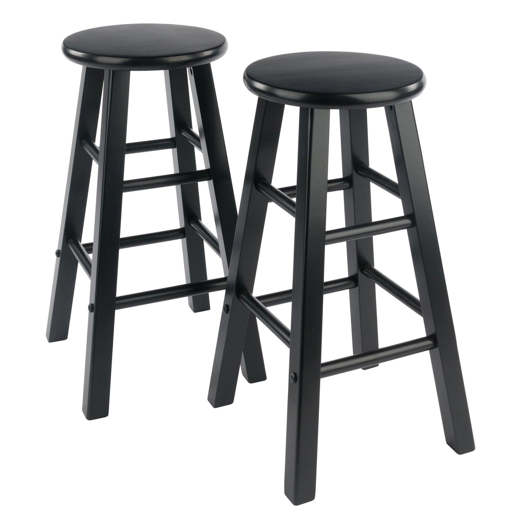 Element Counter Stools, 2-Pc Set, Black - My USA Furniture