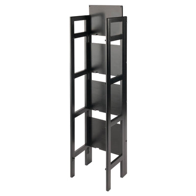 Terry Folding Bookcase Black - My USA Furniture