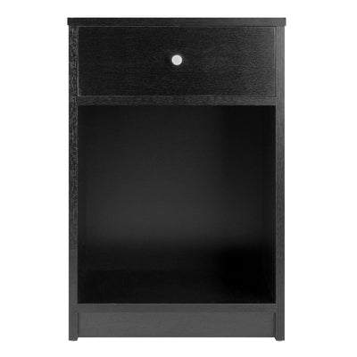 Squamish Accent Table, Nightstand, Black