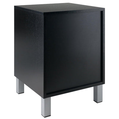 Cawlins Accent Table, Nightstand, Black