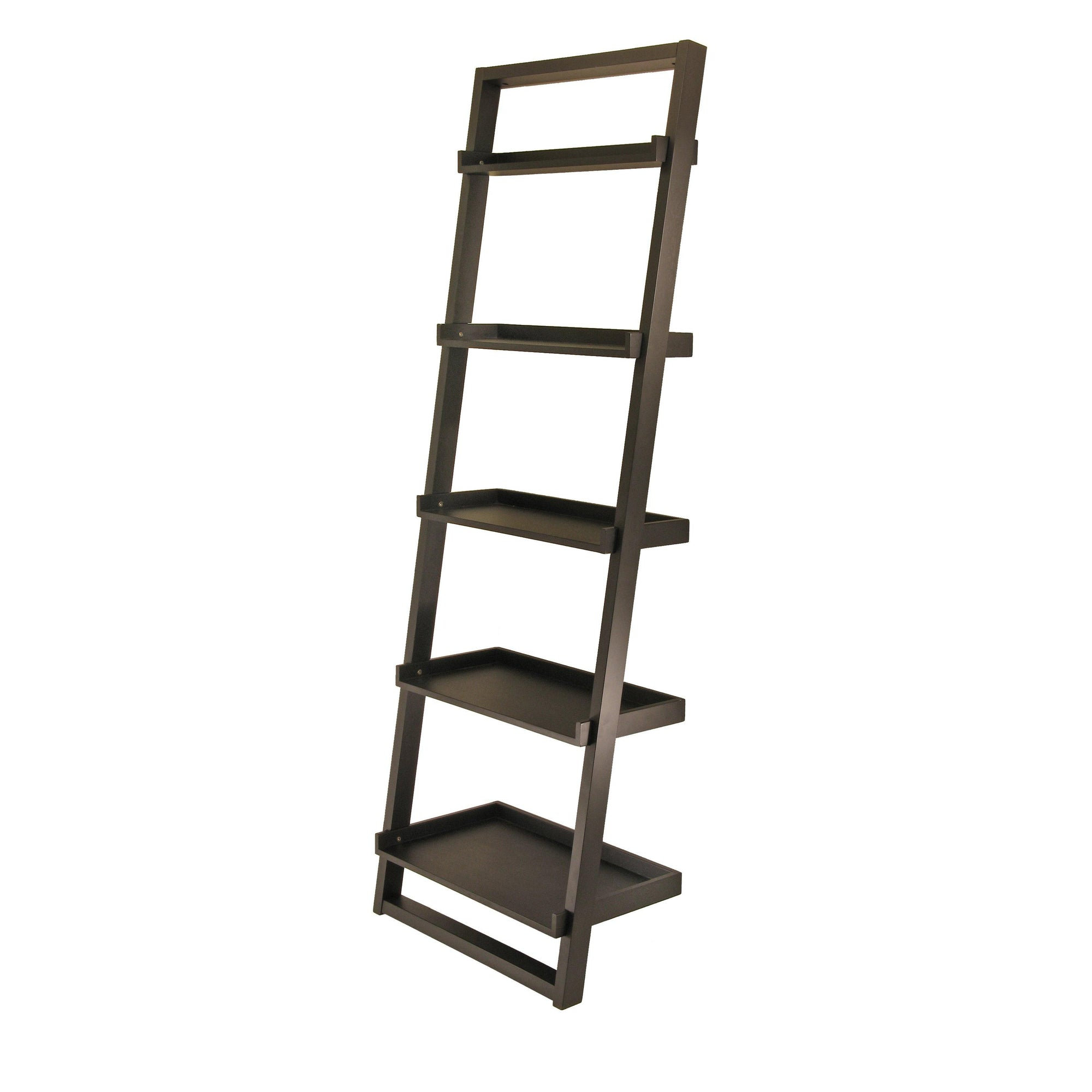 Bailey Leaning Shelf 5-Tier - My USA Furniture