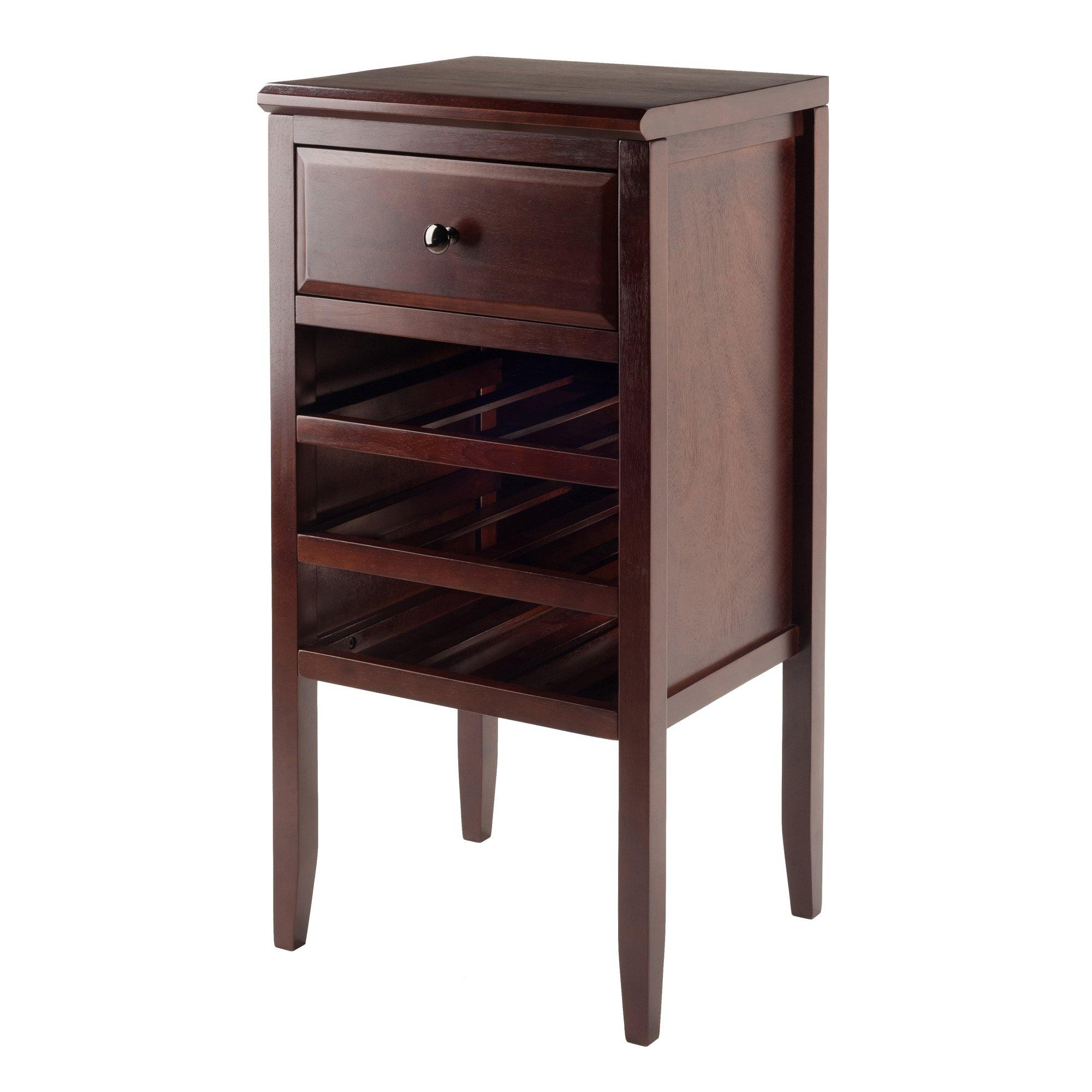 Orleans Modular Buffet Table, Wine Cabinet, Cappuccino - My USA Furniture