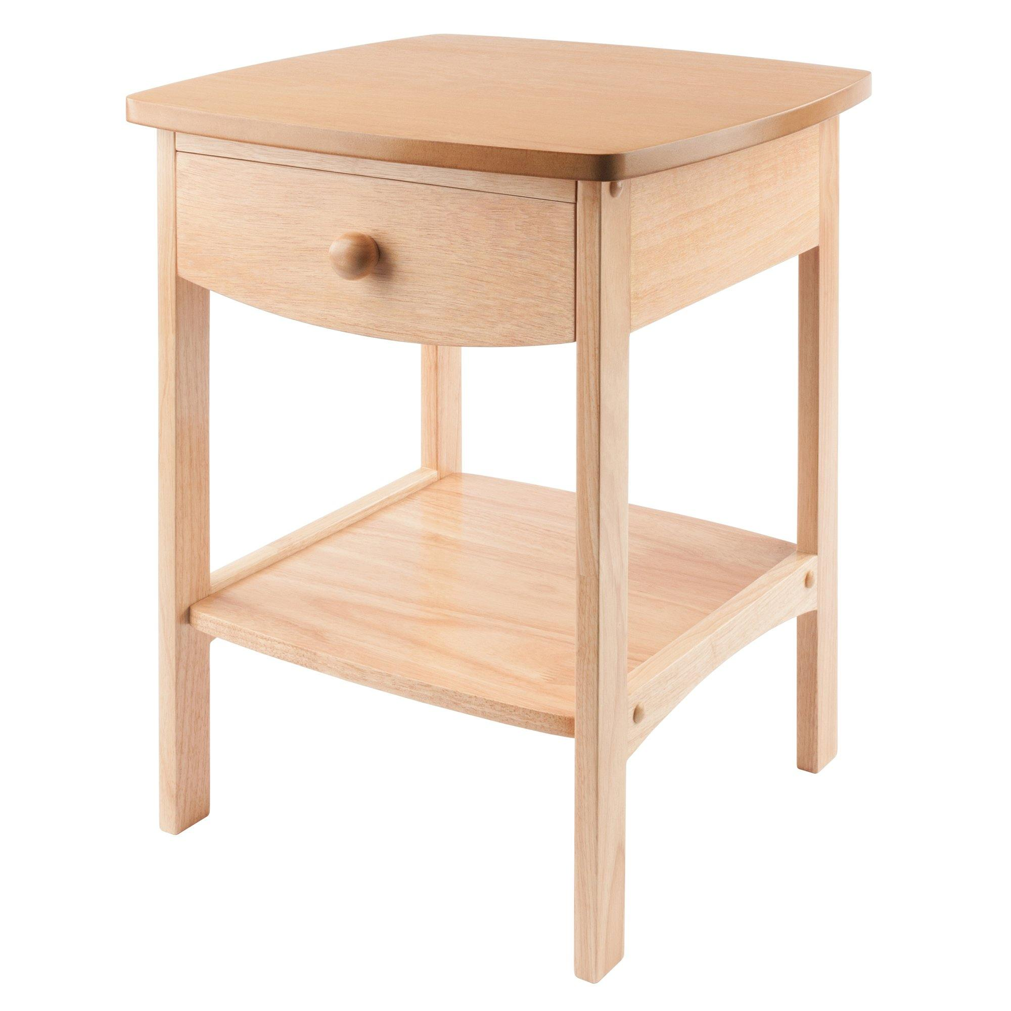 Claire Accent Table Natural Finish - My USA Furniture