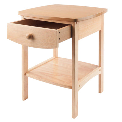 Claire Accent Table Natural Finish