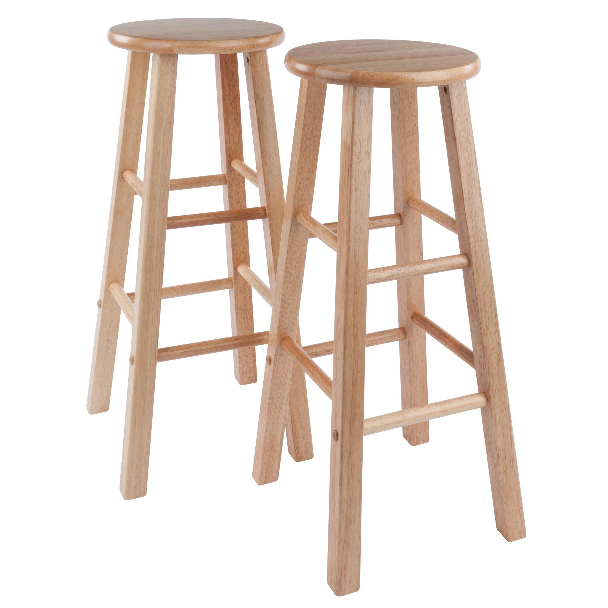 Element Bar Stools, 2-Pc Set, Natural - My USA Furniture