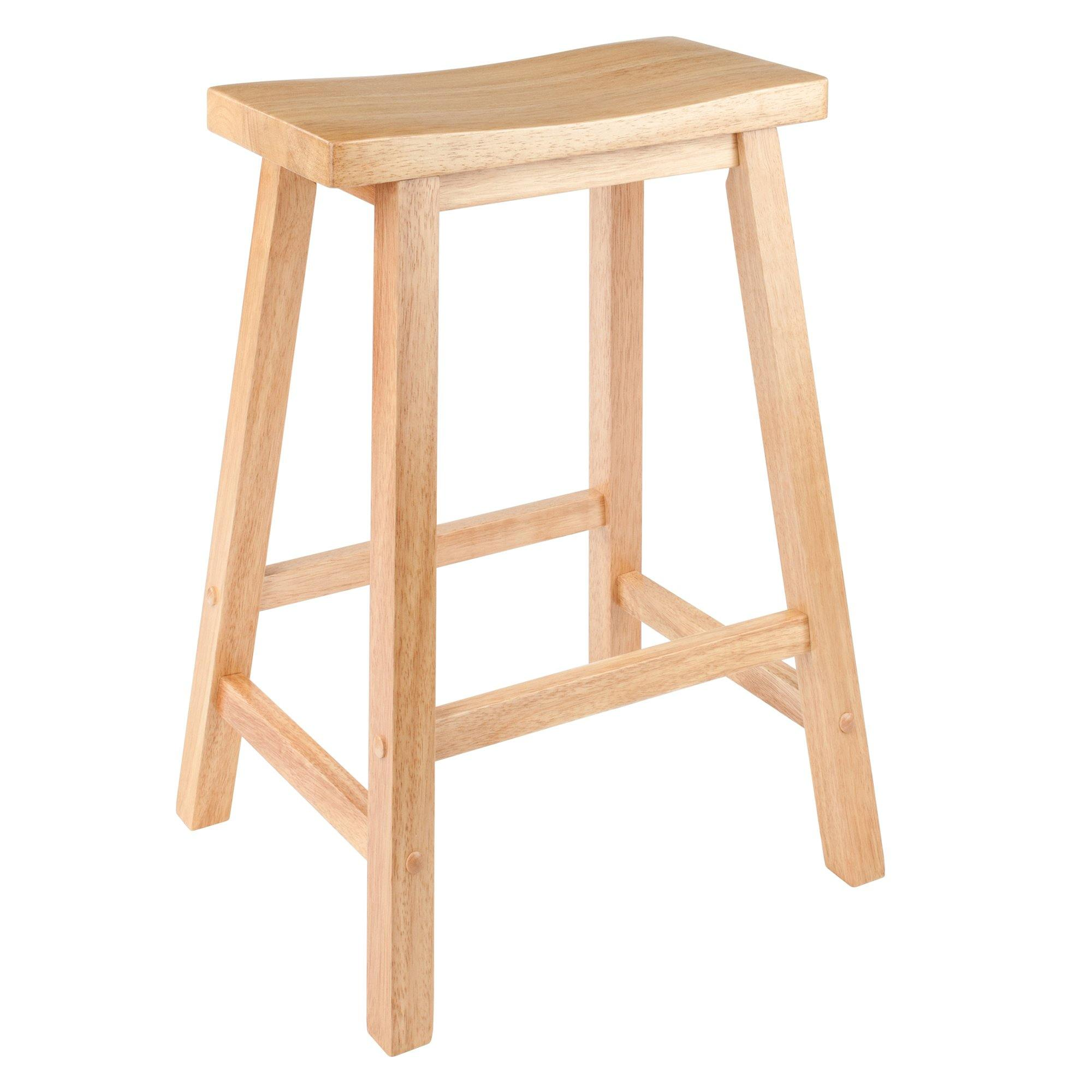 Satori Saddle Seat Counter Stool, Natural - My USA Furniture