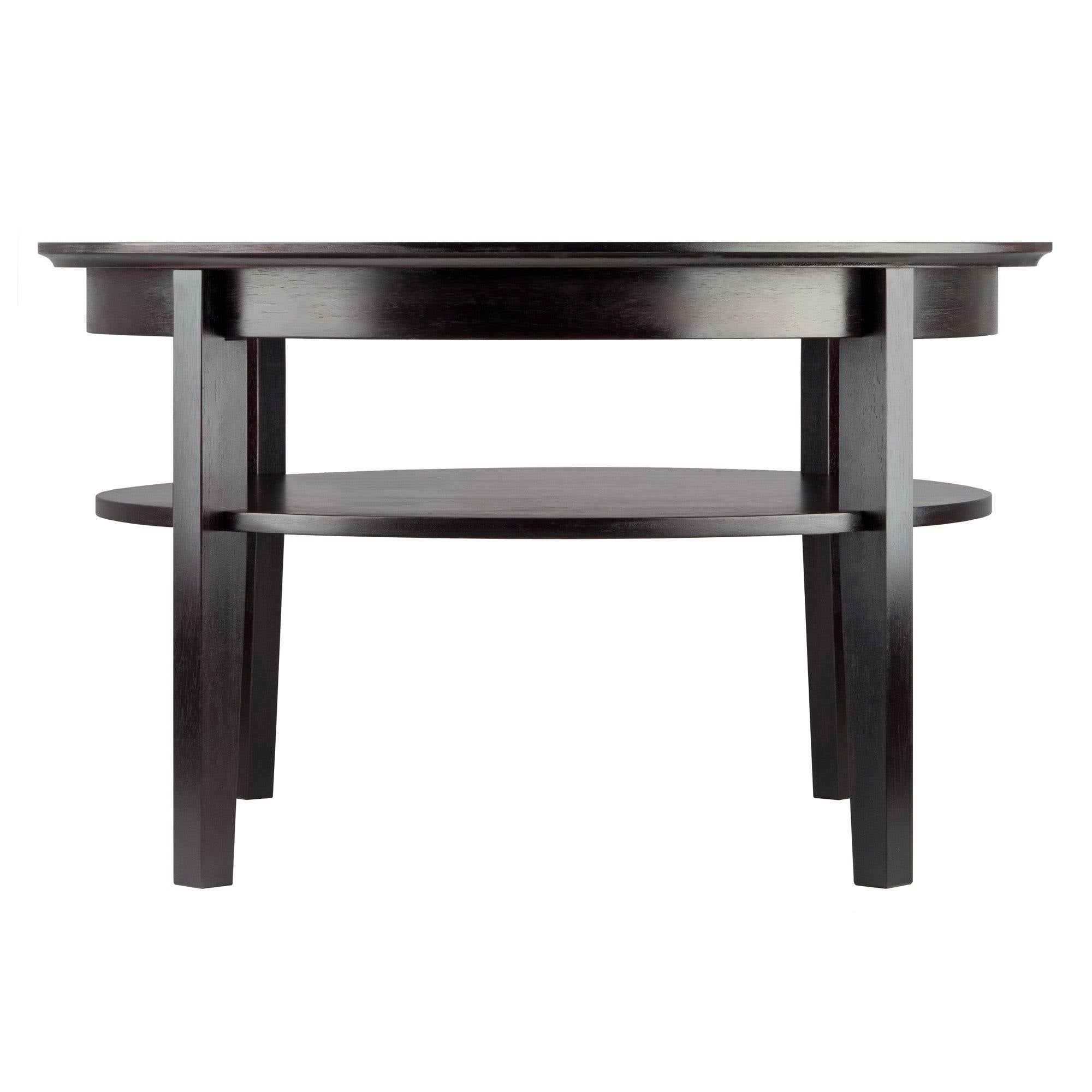 Amelia Round Coffee Table with Pull out Tray - My USA Furniture