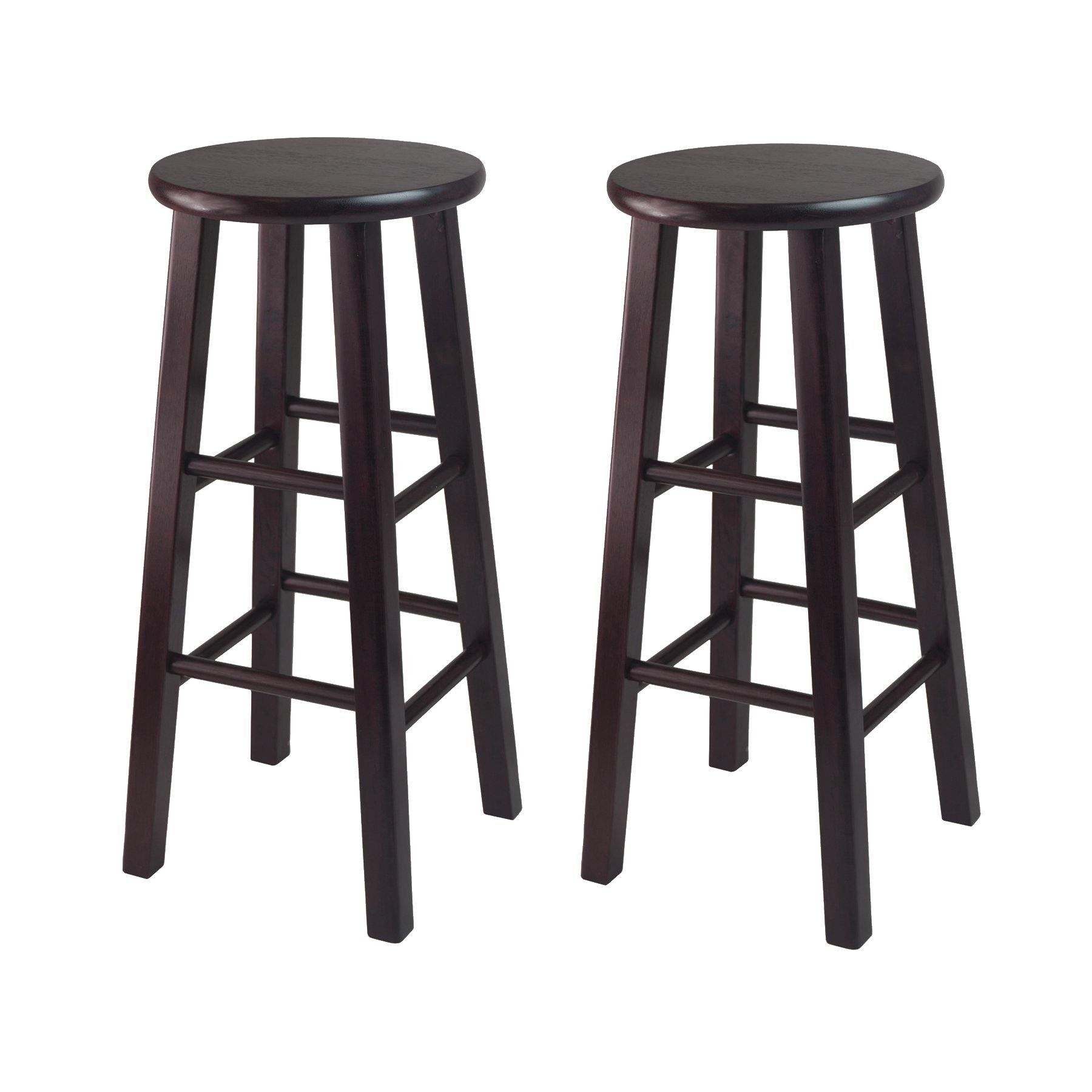 Pacey Bar Stools, 2-Pc Set, Espresso - My USA Furniture