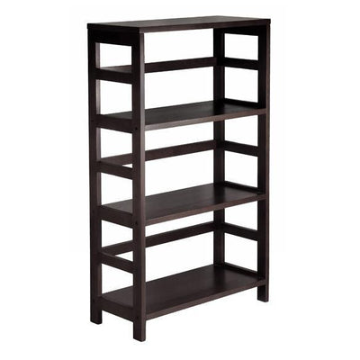 Granville 7Pc Storage Shelf with 6 Foldable Baskets, Espresso - My USA Furniture