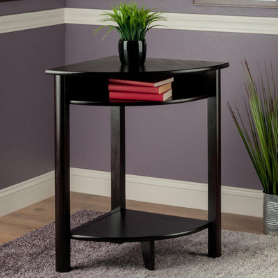 Liso Corner Table, Cube Storage and Shelf - My USA Furniture