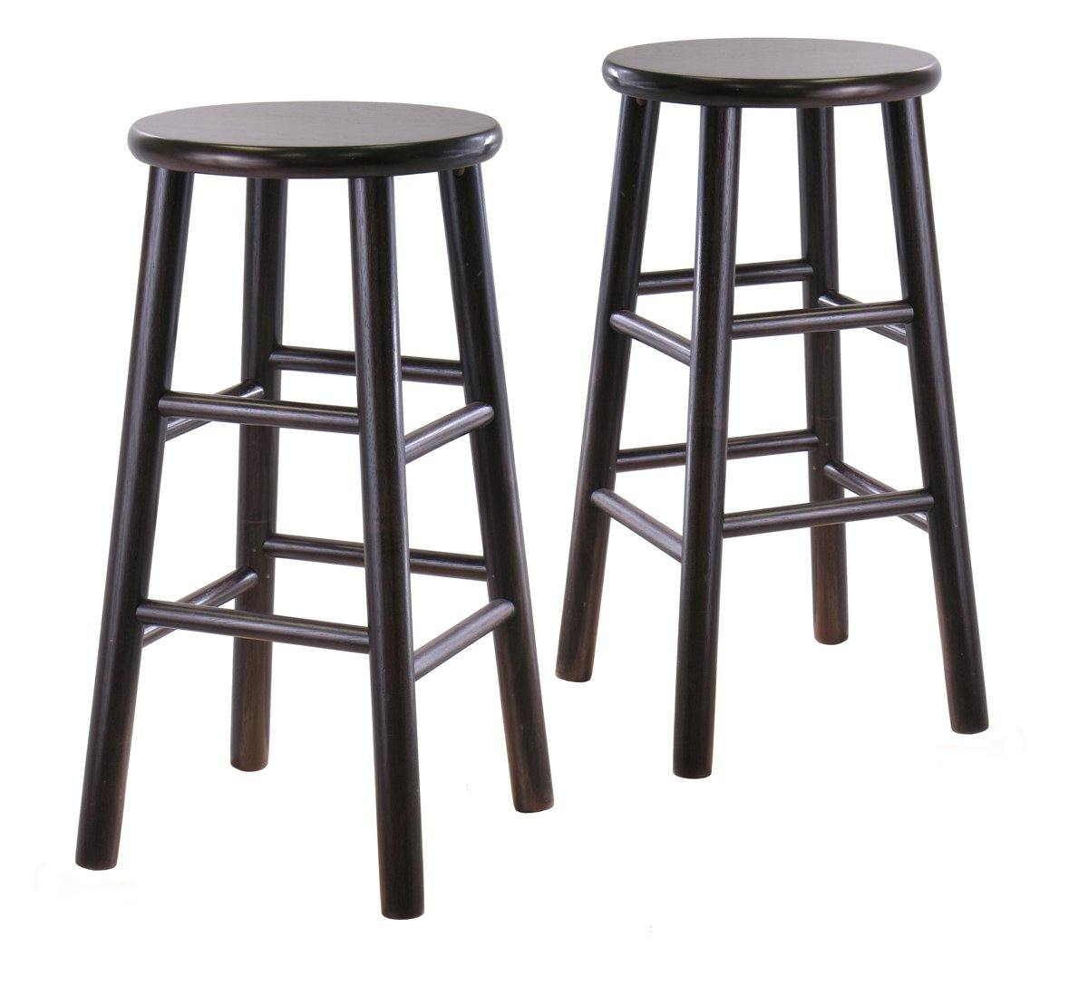 Tabby Counter Stools, 2-Pc Set, Espresso - My USA Furniture