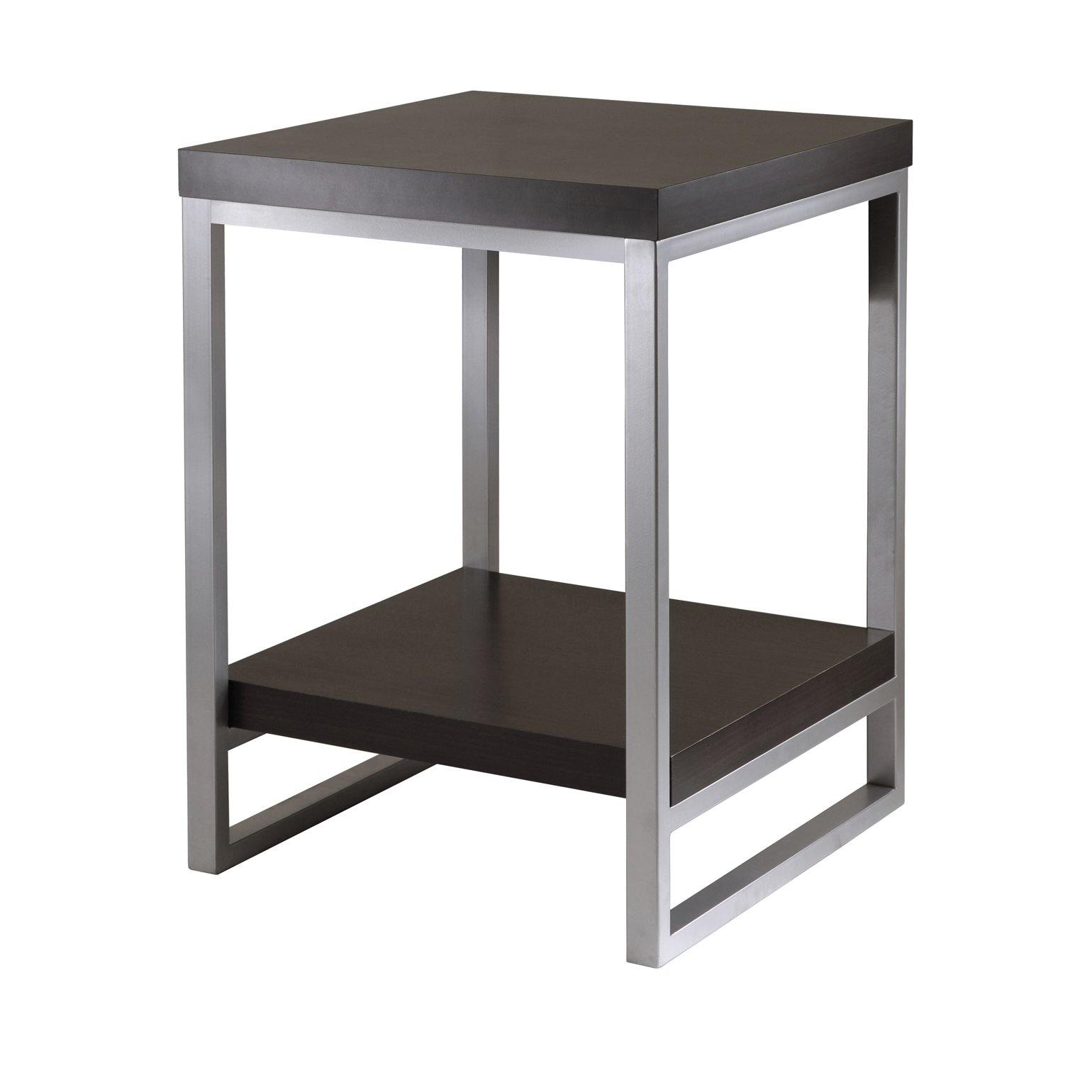 Jared End Table, Enamel Steel Tube - My USA Furniture